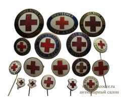 Лот знаков красного креста