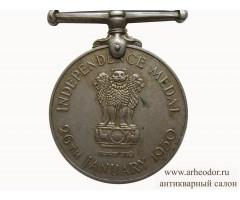 Индия медаль в память независимости для полиции
