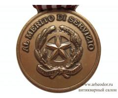 Италия Медаль государственной полиции за заслуги в службе