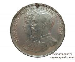 Медаль (жетон) в память серебряного юбилея