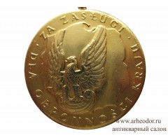 Польша медаль за заслуги в защите страны 1 степени
