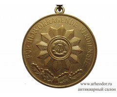 Медаль за выдающиеся заслуги в министерстве внутренних дел