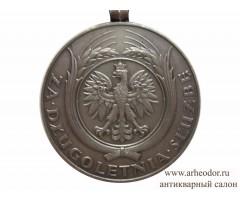 Польша медаль за долголетнюю службу 2 степени