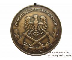 Польша бронзовая медаль за службу в Добровольной Пожарной Дружине