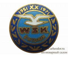 Памятный знак 20 лет WSK