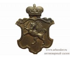 Знак на головной убор полицейского Лифляндской губернии