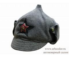 Зимний шлем (буденовка) АБТВ РККА