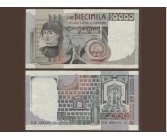 Италия 10000 лир 1976 года