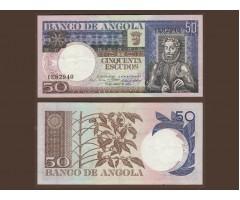 Ангола 50 эскудо 1973 год