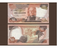 Ангола 100 эскудо 1972 год