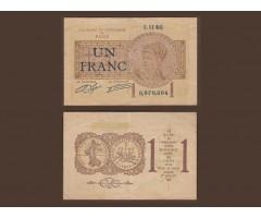 Франция 1 франк 1922 года