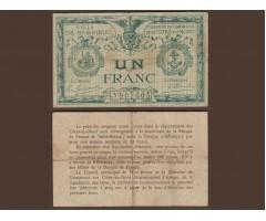 Франция (Сен Брие) 1 франк