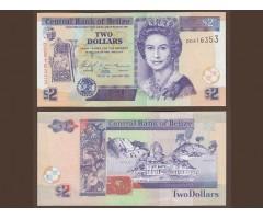 Белиз 2 доллара 2005 год