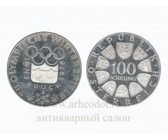 Австрия 100 шиллингов 1976 год