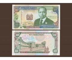 Кения 10 шиллингов 1990 год