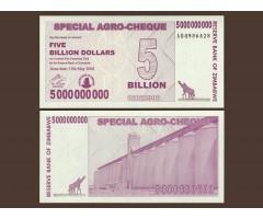 Зимбабве 5 миллиардов долларов 2008 год