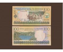 Руанда 100 франков 2003 год