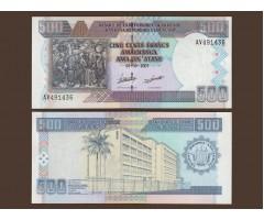 Бурунди 500 франков 2007 год