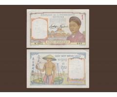 Индокитай 1 пиастр 1936 год