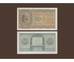 Аргентина 50 сентаво 1951 год