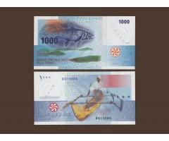 Коморские острова 1000 франков 2005 год