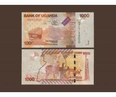 Уганда 1000 шиллингов 2010 года