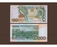 Сан-Томе и Принсипи 10000 добр 2004 год.