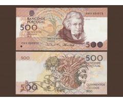 Португалия 500 эскудо 1989 год