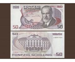 Австрия 50 шиллингов 1986 год
