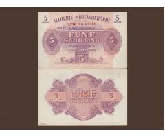 Австрия 5 шиллингов 1944 год