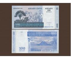 Мадагаскар 100 ариари (500 франков) 2004 год