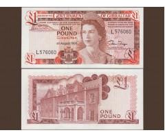 Гибралтар 1 фунт 1988 год