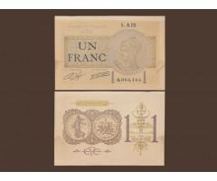 Франция 1 франк 1922 год