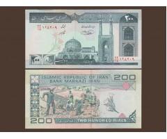 Иран 200 реалов 1982