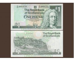 Шотландия 1 фунт 2000 год