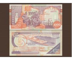 Сомали 1000 шиллингов 1990 года