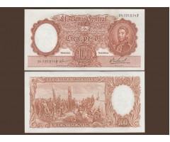 Аргентина 100 песо 1967 года