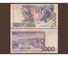 Сан-Томе и Принсипи 5000 добр 2004 года
