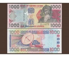 Сьерра - Леоне 1000 леоне 2002 года