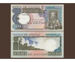 Ангола 1000 эскудо 1973 года