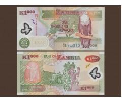 Замбия 1000 квача 2009 года