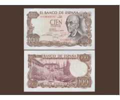 Испания 100 песет 1970 года