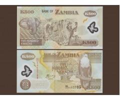 Замбия 500 квача 2005 года
