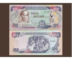 Ямайка 50 долларов 2012 года
