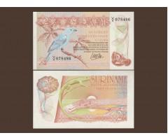 Суринам 2,5 гульдена 1985 года