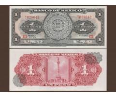 Мексика 1 песо 1967 года