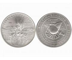США 1 доллар 2002 года