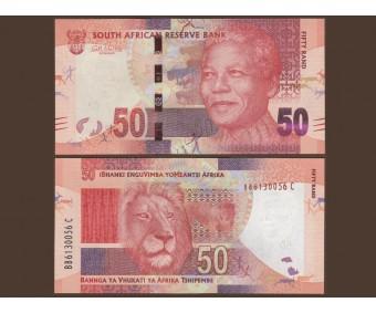 ЮАР 50 рэндов 2012 года