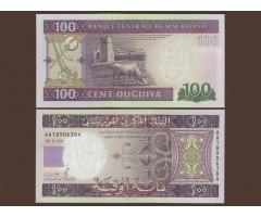 Мавритания 100 угий 2011 год