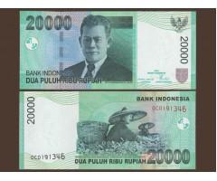 Индонезия 20 000 рупий 2004 год